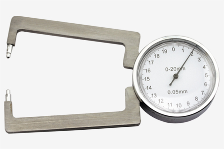 Analogue Lens Thickness Gauge